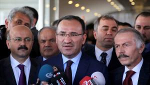 Adalet Bakanı Bozdağ Açıklaması