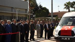 Bakanı Soylu, Havaalanında Şehit Cenazesine Katıldı