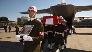 Şehid Uzman Çavuş Acıbucu'nun Naaşını Bakan Soylu Uğurladı