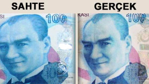 Sahte Parayı Ayırt Etmek İçin 10 Yöntem