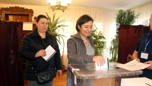 Bulgaristan'da Seçim İçin Trakya'daki Çifte Vatandaşlar Oylarını Kullandı