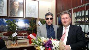 Başkan Palancıoğlu Şehit ve Gaziler Derneğini Ziyaret Etti