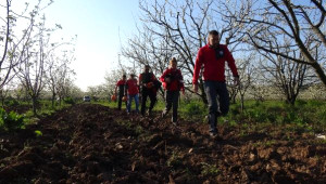 Ağaçta Poşete Dolanan Leyleği, Keşkin Nişancı Köylü Kurtardı