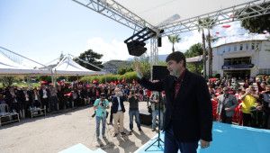 Başkan Türel, Kemer'de Referandumu Anlattı
