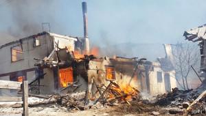Çankırı'da Köy Yangını: İlk Belirlemelere Göre 25 Ev Yandı