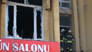 Yozgat'ta Çıkan Yangın Korkuttu