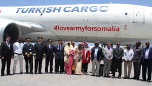 THY Somali'ye Yardım İçin Uçtu