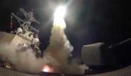 ABD Savaş Gemilerinden Suriye'ye 59 Tomahawk Füzesi Fırlatıldı