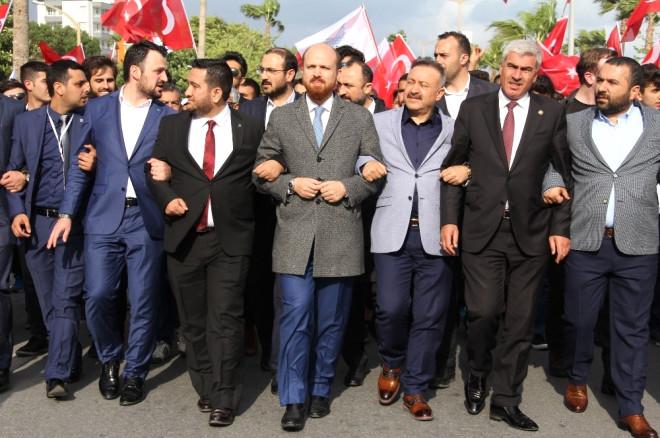 Bilal Erdoğan, Mersin'de Mehterle Yürüdü