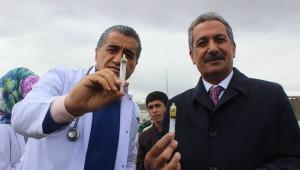 Taşlıçay'da Kardeşlik, Barış ve Birlik Aşısı Bulundu