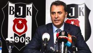 Beşiktaş Başkanı Fikret Orman Basın Toplantısında Konuştu - 1