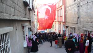 Şahit Ateşi Gaziantep'e Düştü