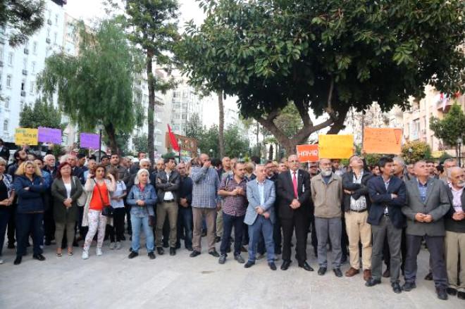 Mersin'de Ysk Protestosu