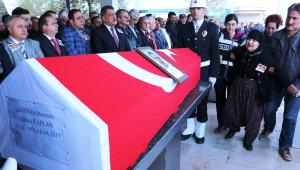 Şehit Polisler İçin Cenaze Töreni Düzenlendi