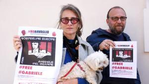 Türkiye'de 13 Gündür Gözaltında Tutulan Gabriele Del Grande İçin İtalya'da Destek Eylemleri Yapıldı