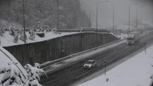 Bolu Dağı'nda Yoğun Kar Yağışı