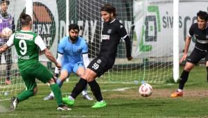 Sivas Belediyespor-Nazilli Belediyespor: 0-2
