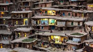 İran'ın 1000 Yıllık Sıradışı Köyü Turistlerin Gözdesi Oldu
