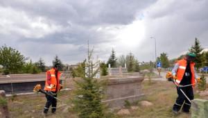 Melikgazi Belediye Sınırları İçerisindeki 28 Mezarlıkta Çevre Düzenleme Çalışması