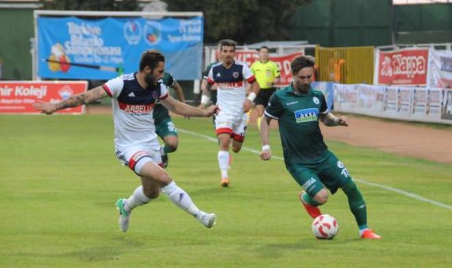 Giresunspor-Mersin İdmanyurdu Maç Fotoğrafları
