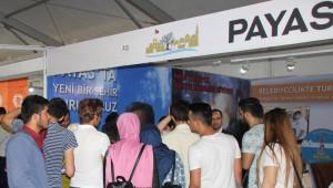 Hatay İnşaat Fuarı'nda Payas Belediyesi Standına Yoğun İlgi