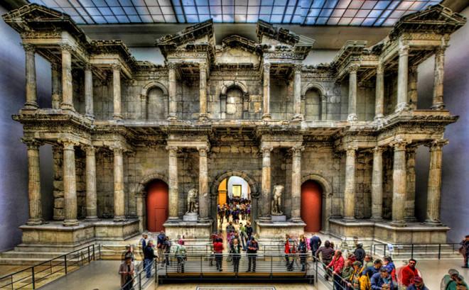 Milet Güney Agora Kuzey Kapısı - Berlin müzesi