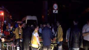 Bağcılar'da Trafik Kazası: 3'ü Ağır 5 Yaralı