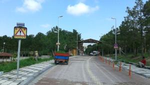 Tabiat Parkının Giriş Güzergahı Değişti