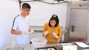 Yozgat'ta Özel Çocuklar Pasta Yaparak Hünerlerini Sergiledi