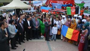 Karabük'te Eğitim Gören 46 Ülkenin Öğrencileri Buluştu