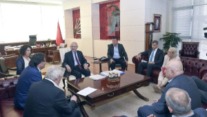 Kılıçdaroğlu, Ituc ve Etuc Heyetini Kabul Etti