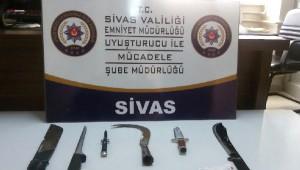 Sivas'ta Narkotik Operasyonu