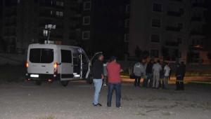 İzmir'de Boş Araziye Eyp Atıldı