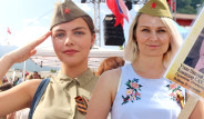 Rusların Zafer Bayramı Kemer'de Kutlandı