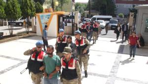 Şanlıurfa'da Sosyal Medyadan PKK Propagandası Şüphelileri Adliyede