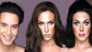 Yaptığı Makyajla Ünlü Kadınlara Tıpatıp Benzedi