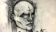 18 Yaşındaki Şizofreni Hastası Genç Kız Halüsinasyonlarını Çizdi