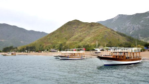 Turizm Cenneti Adrasan Yeniden Yeşile Döndü