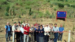 Manisa'da Her Şehit İçin Bir Fidan Dikildi