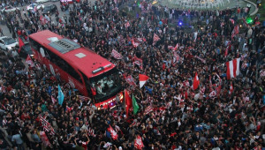Sivasspor'a Coşkulu Karşılama
