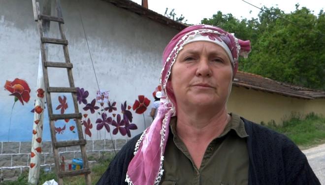 Eko Turizm Köyü Çiçek Motifleriyle Süsleniyor