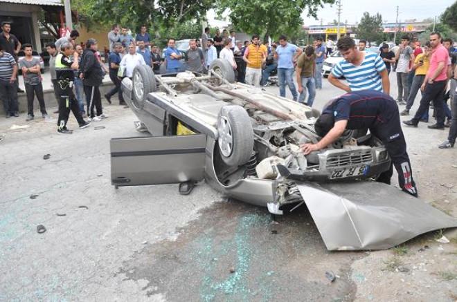 Turgutlu'da Kaza: 2 Yaralı