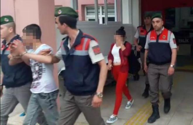 35 Bin Dolarlık Gümüş Takı Çalan 4 Kişi Yakalandı