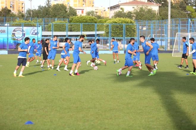 Adana Demirspor, Mersin İdmanyurdu Hazırlıklarını Sürdürdü