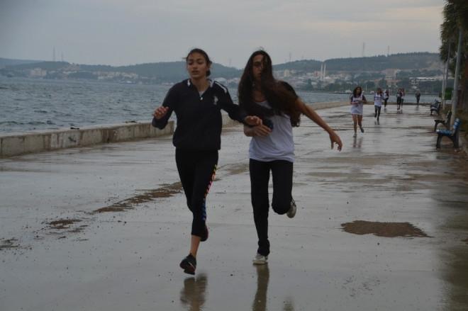 Aliağa'da Gençlik Koşusu