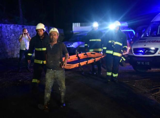 Antalya'da Madende Metan Gazından Zehirlenen 2 İşçi Öldü (4)