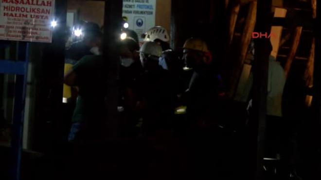 Antalya'dan Acı Haber! Maden Ocağında Mahsur Kalan 2 İşçi Öldü