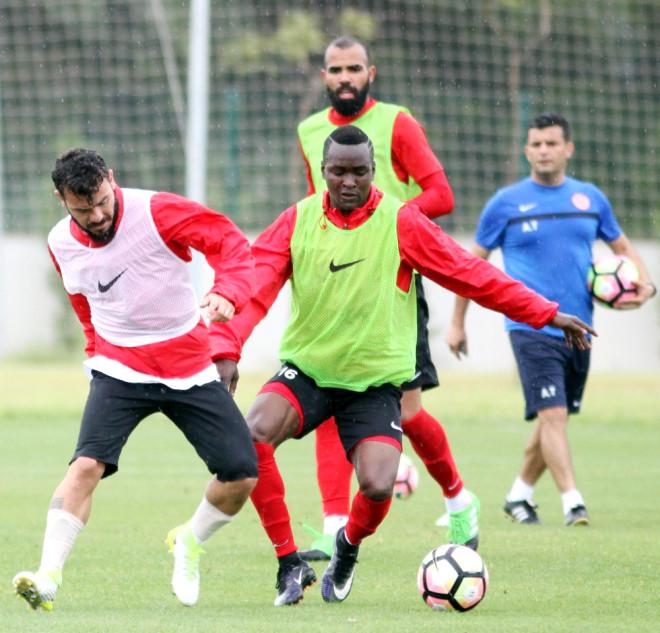Antalyaspor, Bursaspor Maçının Provalarına Başladı