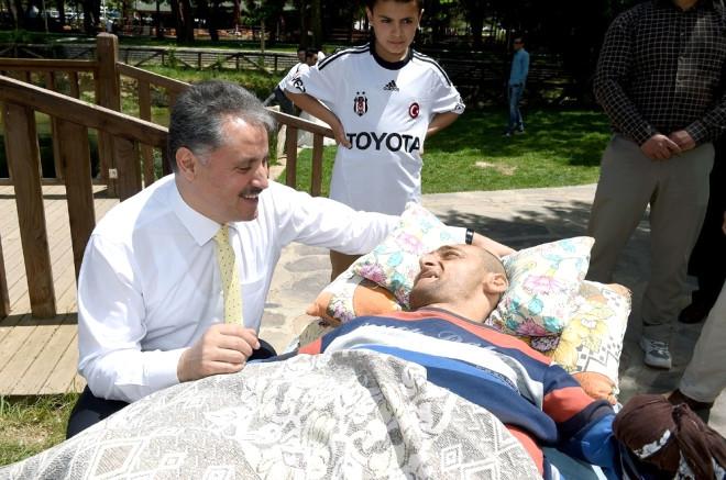 Başkan Çakır Engellilerle Piknikte Buluştu