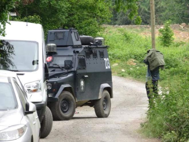 Beykoz'da Polis Operasyonu (1)